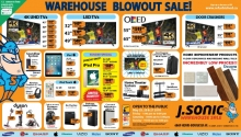 J Sonic August Warehouse Sale Spring 2018