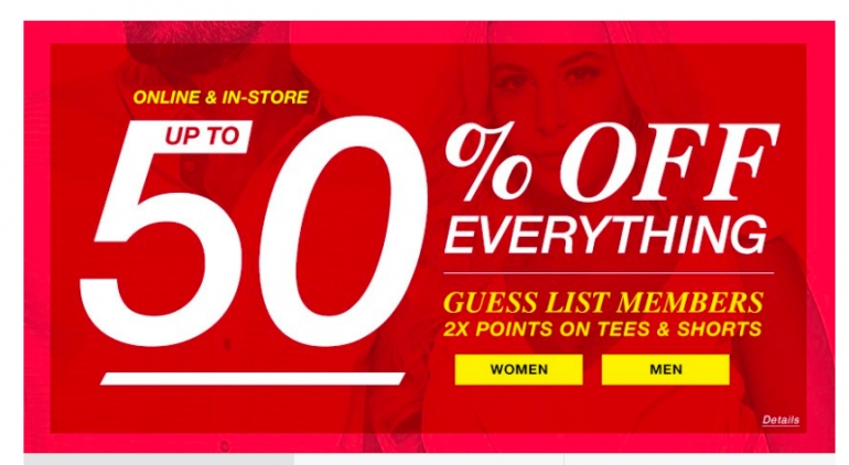Guess Factory Canada Deals 2018