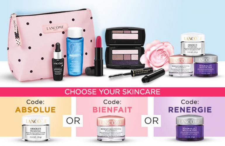 Lancôme Canada Promotions March 2018
