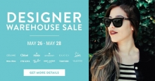 Shop Under Designer Warehouse Sale May 2017