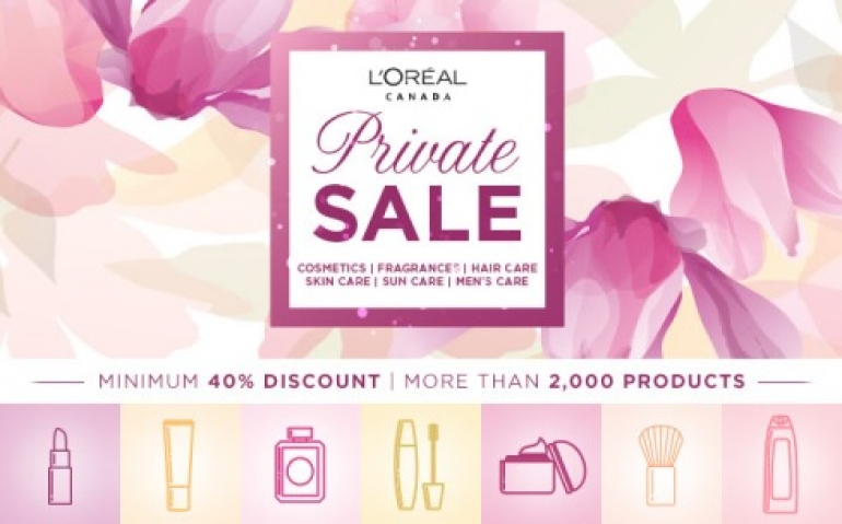 L'Oreal Warehouse Sale 2018