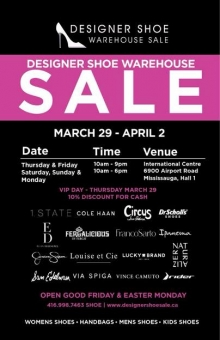 Designer Shoe Sale Summer 2018