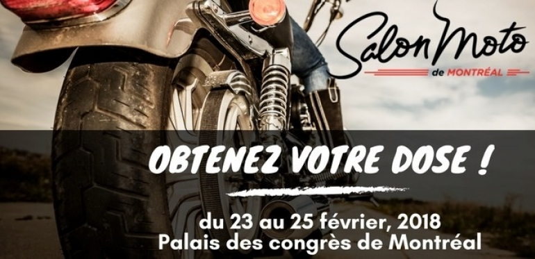 The Motorcycle Show Montreal 2018
