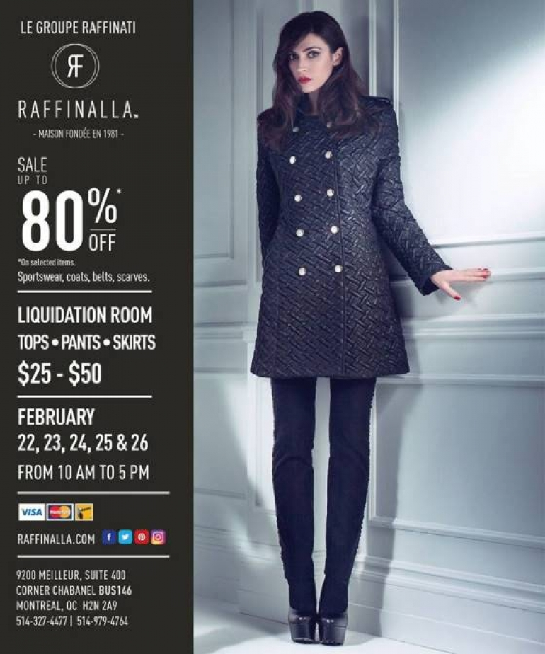 Raffinalla Warehouse Sale 2017