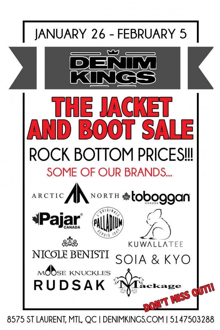 Denim Kings sale 2017