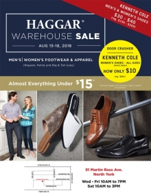 Haggar Warehouse Sale 2018