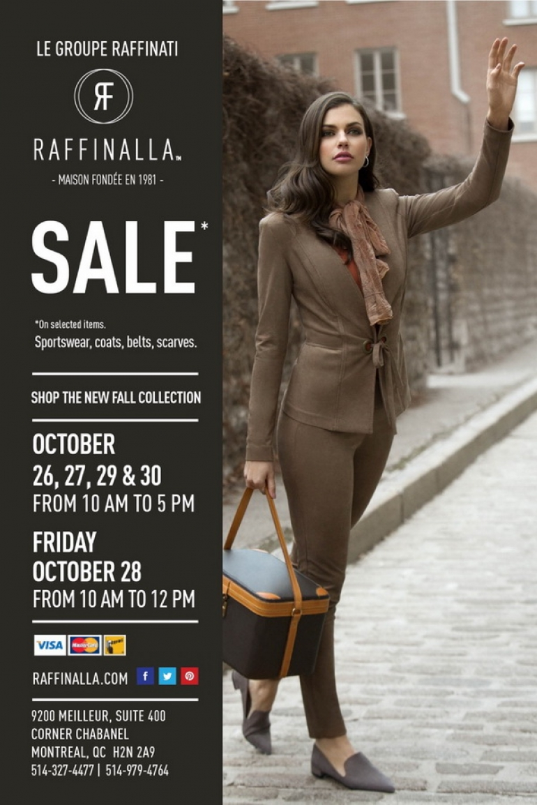 Raffinalla Sale Fall 2016
