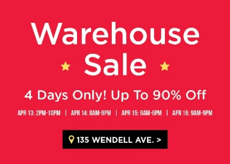 Kitchen Stuff Plus Warehouse Sale Spring 2018