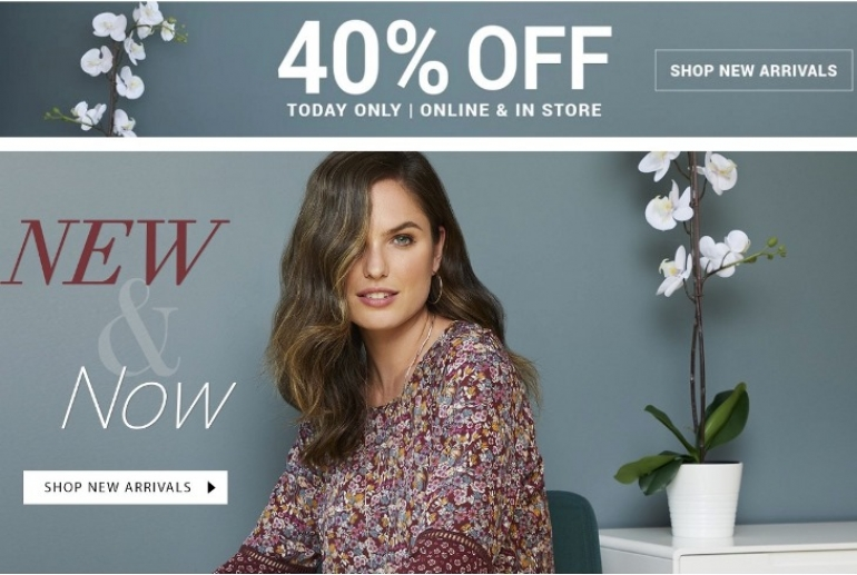 Suzy Shier Canada Sale: Save 40% off New Arrivals & 50% Off Sale Items