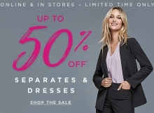 Le Chateau Canada Sale Of The Season Up To 50% Off