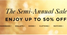 Michael Kors Semi-Annual Sale 2018