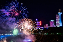 New Year's Eve in Niagara Falls 2018