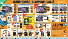 J Sonic Warehouse Sale 2019