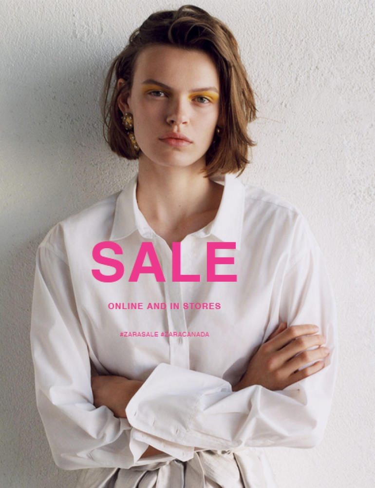 Zara Annual Sale 2018