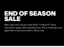 Adidas Canada End of Season Sale 2018