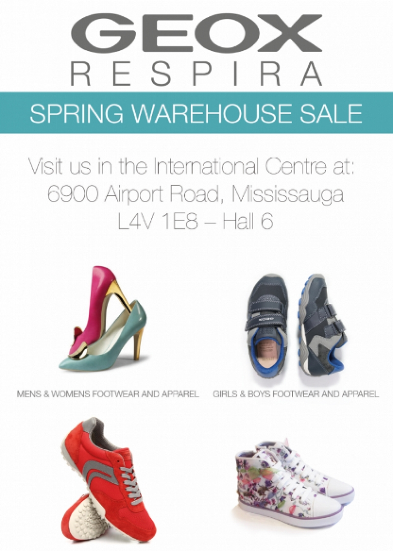 GEOX Spring Warehouse Sale 2018