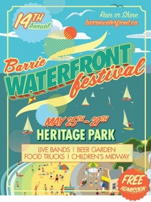 Barrie Waterfront Festival 2018