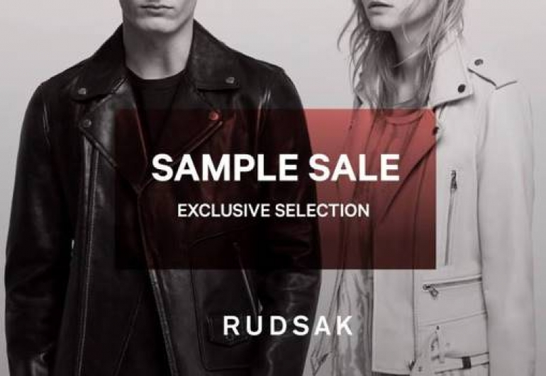 Rudsak Sample Sale 2018