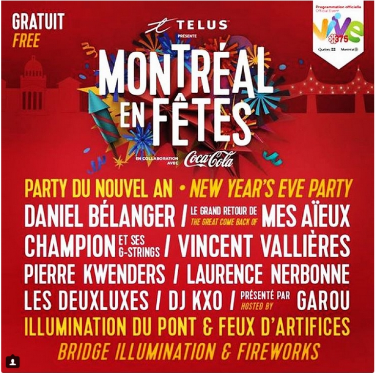 New Year's Eve Party Montreal 2018
