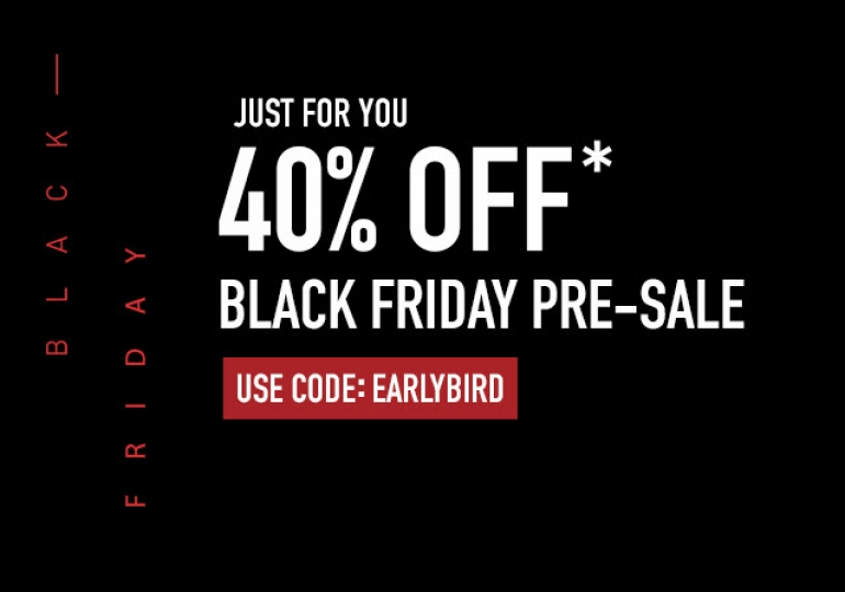 Reebok Canada Black Friday Pre-Sale: Save 40% Off Using Promo Code