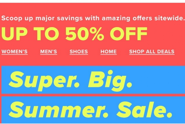 Hudson's Bay Super Big Summer Sale 2018