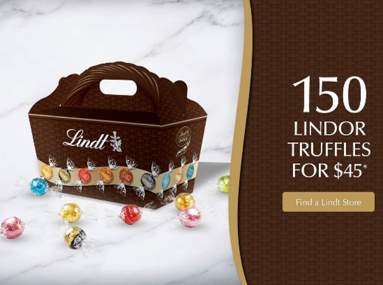 Lindt Chocolate Canada Sale Oct 2018