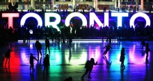 Skating at Nathan Phillips Square at Nathan Phillips Square 2019