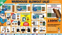 J Sonic Warehouse Summer Sale 2018
