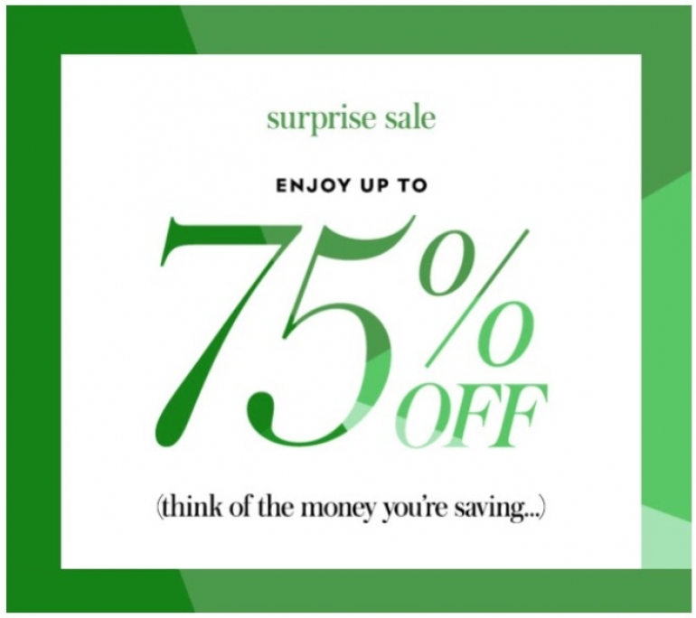 Kate Spade Surprise Sale: Save up to 75% off