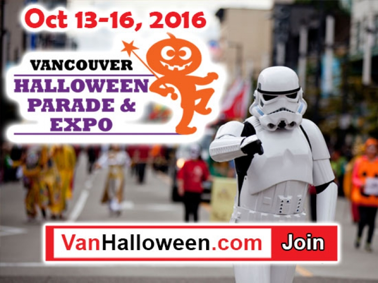 Vancouver Halloween Parade 2016