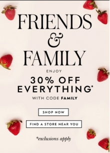 Kate Spade Friends & Family Event Sale April 2018