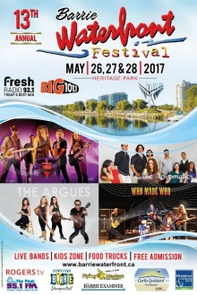 Barrie Waterfront Festival 2017