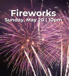 Victoria Day Long Weekend Fireworks 2018