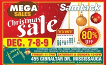 Samtack Christmas Sale 2018